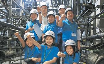 2014体験リポート 第6講座「NTT西日本  鹿児島支店」