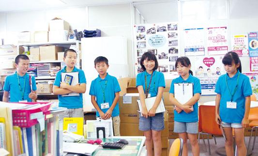 「地図を見ながら教室を探すのが大変だった」「ぼくたちが準備した袋が各教室に届くんだ!」。体験後の感想にも充実感がうかがえました